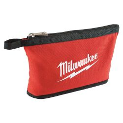 MILWAUKEE 48-22-8180, ZIPPER POUCH - CANVAS W/STAND UP BOTTOM 48-22-8180