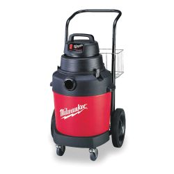 MILWAUKEE 8938-20, 2-STAGE WET/DRY VACUUM - 7.4 AMP MOTOR 9 GALLON 8938-20