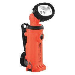 STREAMLIGHT 90644, KNUCKLEHEAD WORKLIGHT: ORANGE - LED ALKALINE MODEL W/ CLIP 90644