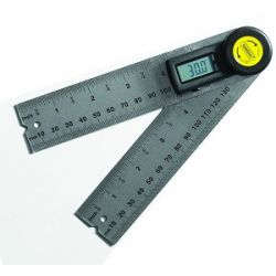 "GENERAL TOOLS 822, DIGITAL ANGLE FINDER WITH - RULES - 5"" 822"