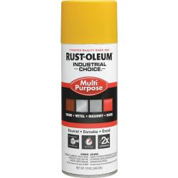 RUST-OLEUM 1644830, PAINT-IC ENAMEL FASTDRY 12 OZ - AEROSOL GLOSS SAFETY YELLOW 1644830