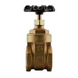 "BOSHART INDUSTRIES 0818-15NL, GATE VALVE-THREADED 1-1/2"" - NON-RISING STEM 200PSI NO LEAD 0818-15NL"
