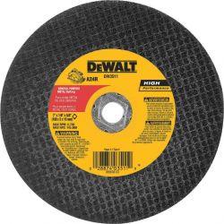 DEWALT DW8027, WHEEL 12 X 1/8 X 20MM - PORTABLE CONCRETE HS T41 DW8027