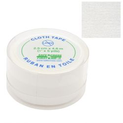 "SAFECROSS FIRST AID 07793, TAPE-COTTON ADHESIVE WHITE - 1"" X 5 YDS HOSPITAL QUALITY 07793"