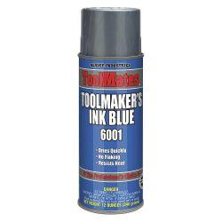 AERVOE 6001, BLUE LAYOUT FLUID - 10 OZ AEROSOL 6001
