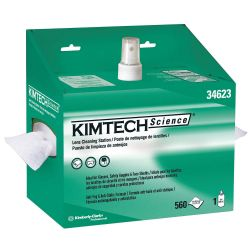 KIMBERLY CLARK KIMTECH 34623, LENS CLEANING STATION - KIMTECH SCIENCE WHITE 34623