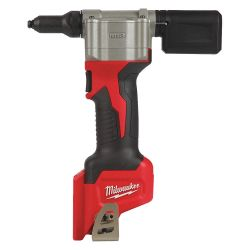 MILWAUKEE 2550-20, RIVET TOOL M12 (TOOL ONLY) - PULL 3/32 1/8 5/32 3/16 RIVETS - 2550-20