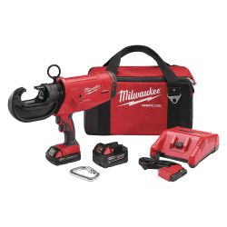 MILWAUKEE 2778-22, CRIMPER KIT-12 TON M18 - FORCE LOGIC XC5.0 BATTERY 2778-22
