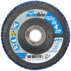"SAINT-GOBAIN NORTON 99052A, FLAP DISC - BLUEFIRE TYPE 29 - 4"" X 5/8"" 80GRIT 99052A"