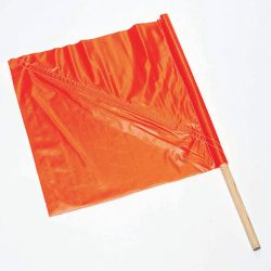 C.H. HANSON 55200, MESH TRAFFIC FLAG WITH 27'' - HANDLE 55200
