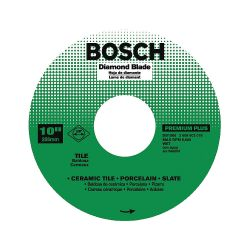 """BOSCH DB1066, DIAMOND BLADE-PREMIUM PLUS 10"""" - 5/8 ARBOR PREMIUM PLUS DB1066"""