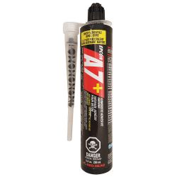 ITW CONSTRUCTION PRODUCTS RED HEAD A7P-10, EPCON CARTRIDGE 10.0 OZ - ACRYLIC EPOXY #7 C/W NOZZLE A7P-10