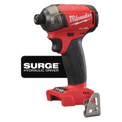 """MILWAUKEE 2760-20, IMPACT WRENCH 1/4"""" HEX - M18 FUEL TOOL ONLY SURGE 2760-20"""