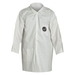 DUPONT NG212SWHLG003000, LAB COAT-PROSHIELD LARGE NG212SWHLG003000