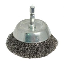 """ROK 45144, END CUP BRUSH 2"""" COARSE 45144"""