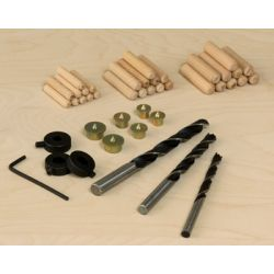 GENERAL TOOLS 8401, DOWEL ACCESSORY KIT 8401