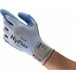 ANSELL 11-518, BLUE HYFLEX LIGHTWEIGHT GLOVE 11-518