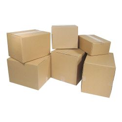 "WFS APPROVED RSC10X10X10, BOX 10"" X 10"" X 10"" - 32ECT KRAFT (25/PK) RSC10X10X10"