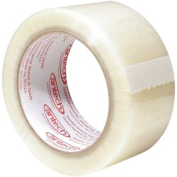 """CANTECH 263-00-48-132, TAPE- PACKAGING CLEAR - 48MM X 132M (2"""") 263-00-48-132"""
