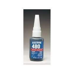 HENKEL LOCTITE 48040, PRISM INSTANT ADHESIVE #480 - BLACK TOUGHENED 20G BOTTLE - 48040