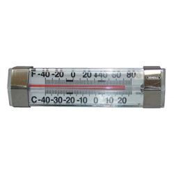 GENERAL TOOLS FT80H, REFRIGERATOR / FREEZER - THERMOMETER, HORIZ.. -20F-80F - FT80H