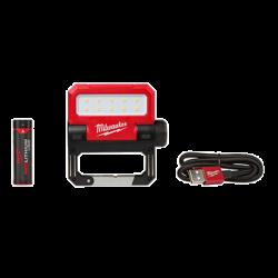 MILWAUKEE 2114-21, FLOOD LIGHT-ROVER PIVOTING - USB RECHARGEABLE 550 LUMENS 2114-21